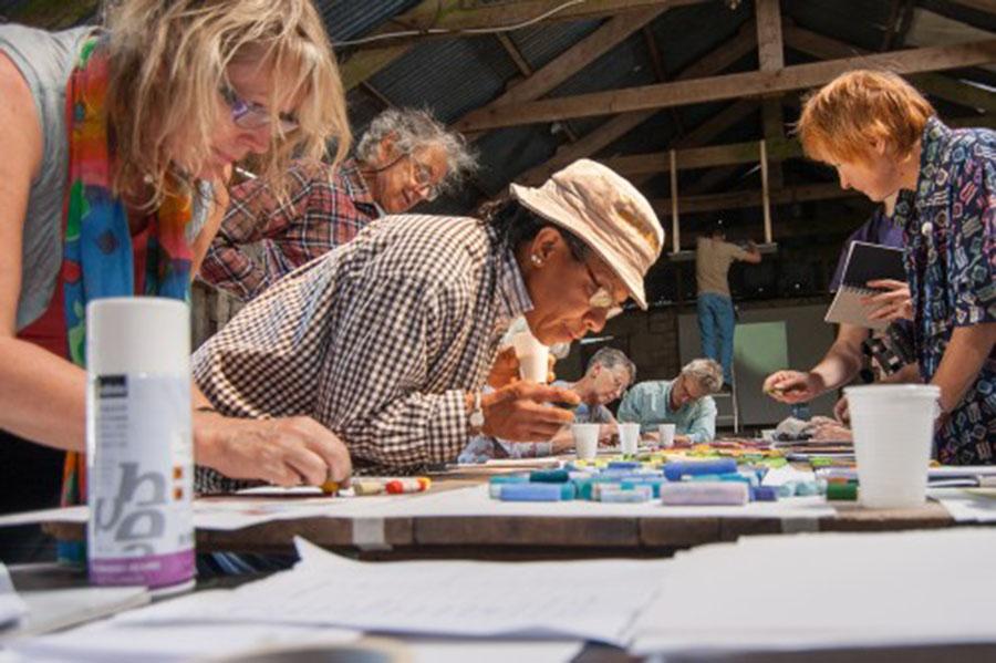 Collier's 'Colour Walking Workshop'